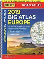 Philip's 2019 Big Road Atlas Europe