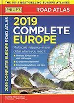 Philip's 2019 Complete Road Atlas Europe