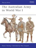 The Australian Army in World War I (Men-At-Arms Series)
