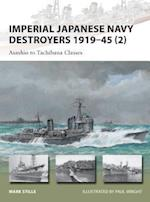 Imperial Japanese Navy Destroyers 1919-45 2 (New Vanguard)