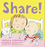 Share! af Anthea Simmons, Georgie Birkett