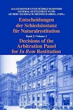 Decisions of the Arbitral Panel for In Rem Restitution (Decisions of the Arbitration Panel for In Rem Restitution, nr. 2)