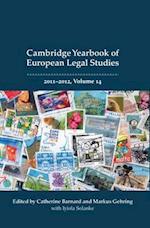Cambridge Yearbook of European Legal Studies (Cambridge Yearbook Of European Legal Studies, nr. 14)