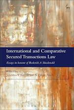 International and Comparative Secured Transactions Law