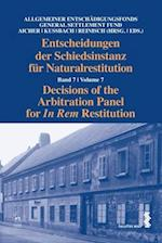 Decisions of the Arbitration Panel for In Rem Restitution, Volume 7 (Decisions of the Arbitration Panel for In Rem Restitution)