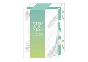 Mindfulness Coloring Set of Three Notebooks