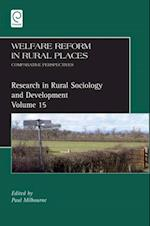 Welfare Reform in Rural Places (RESEARCH IN RURAL SOCIOLOGY AND DEVELOPMENT)
