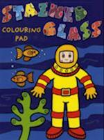 Diver Colouring Pad