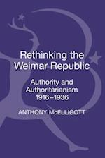 Rethinking the Weimar Republic af Anthony Mcelligott