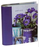 Jane Packer Blue & White Address Book
