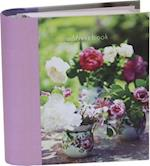 Homespun Peonies and Roses Mini Address Book
