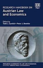 Research Handbook on Austrian Law and Economics (Research Handbooks in Law and Economics Series)