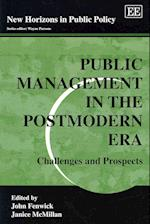 Public Management in the Postmodern Era af John Fenwick