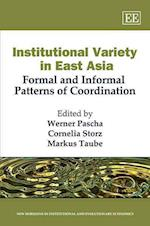 Institutional Variety in East Asia af Werner Pascha