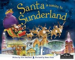 Bog, hardback Santa is Coming to Sunderland af Steve Smallman