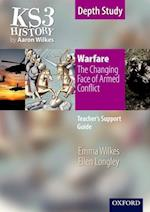 KS3 History by Aaron Wilkes: Warfare: The Changing Face of Armed Conflict teacher's support guide + CD-ROM (Folens History S)