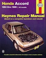 Honda Accord 1984-89 Owner's Workshop Manual (Haynes Owners Workshop Manuals)
