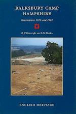 Balksbury Camp, Hampshire (English Heritage Archaeological Report, nr. 4)