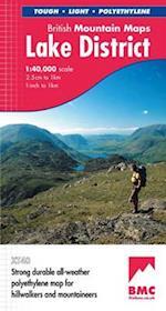 Lake District (British Mountain Map)