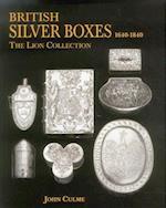 British Silver Boxes 1640-1840