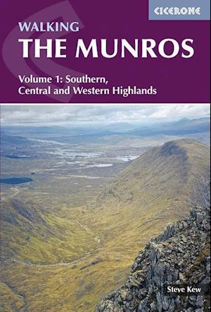 Bog, paperback Walking the Munros Vol 1 - Southern, Central and Western Highlands af Steve Kew