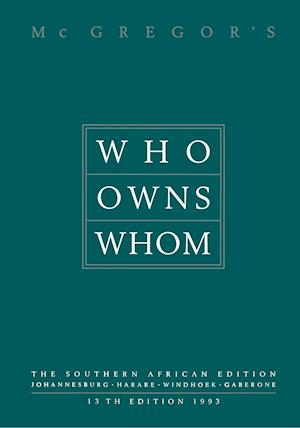 Who Owns Whom : The Southern African Edition