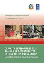 Capacity Development for Scaling up Decentralized Energy Access