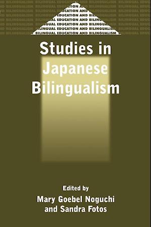 Studies in Japanese Bilingualism