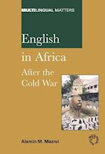 English in Africa (MULTILINGUAL MATTERS)