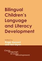 Bilingual Children's Language and Literacy Development af Roger Barnard