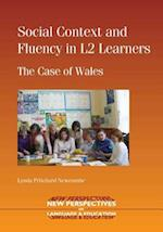 Social Context and Fluency in L2 Learners (NEW PERSPECTIVES ON LANGUAGE AND EDUCATION)