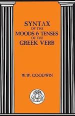 Syntax of the Moods and Tenses of the Greek Verbs af William Watson Goodwin, W. Goodwin