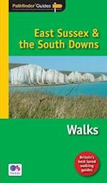Pathfinder East Sussex & the South Downs Walks (Pathfinder Guides, nr. 67)