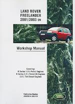 Land Rover Freelander 2001/2003 on Workshop Manual Service Procedures
