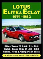 Lotus Elite & Eclat 1974-1982 Road Test Portfolio (Brooklands Books Road Tests Series)