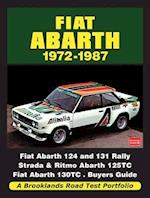 Fiat Abarth 1972-1987 Road Test Portfolio (Brooklands Road Test Portfolios)