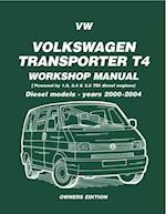 VW Transporter T4 Workshop Manual Diesel 2000-2004