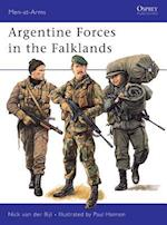 Argentine Forces in the Falklands (Men-At-Arms, nr. 250)
