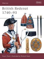 British Redcoat 1740-1793 (Osprey Military Warrior Series, No 19)