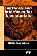 Surfaces and Interfaces for Biomaterials (Woodhead Publishing Series in Biomaterials, nr. 2)
