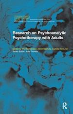 Research on Psychoanalytic Psychotherapy with Adults af Phil Richardson