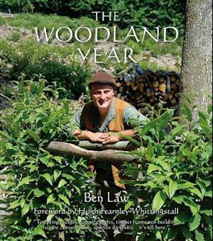 Bog, hardback The Woodland Year af Ben Law