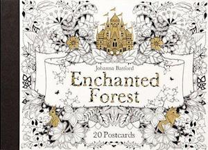 Bog, ukendt format Enchanted Forest Postcards af Johanna Basford