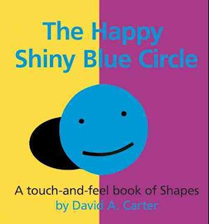 Bog, hardback The Happy Shiny Blue Circle af David A Carter