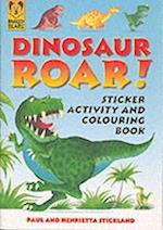 Dinosaur Roar Activity Sticker Book af Paul Stickland