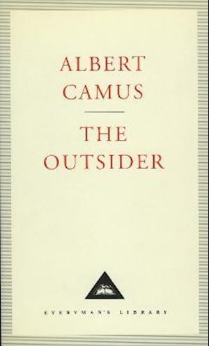 Bog hardback The Outsider af Joseph Laredo Albert Camus Peter Dunwoodie