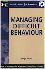 Managing Difficult Behaviour, - Workshop for Parents (Workshops for Parents)