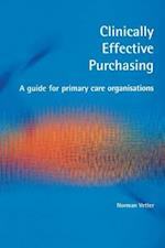 Clinically Effective Purchasing