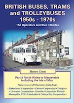 British Buses, Trams and Trolleybuses 1950s-1970s af Henry Conn