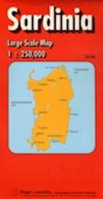 Sardinia Regional Road Map (Red Cover S)